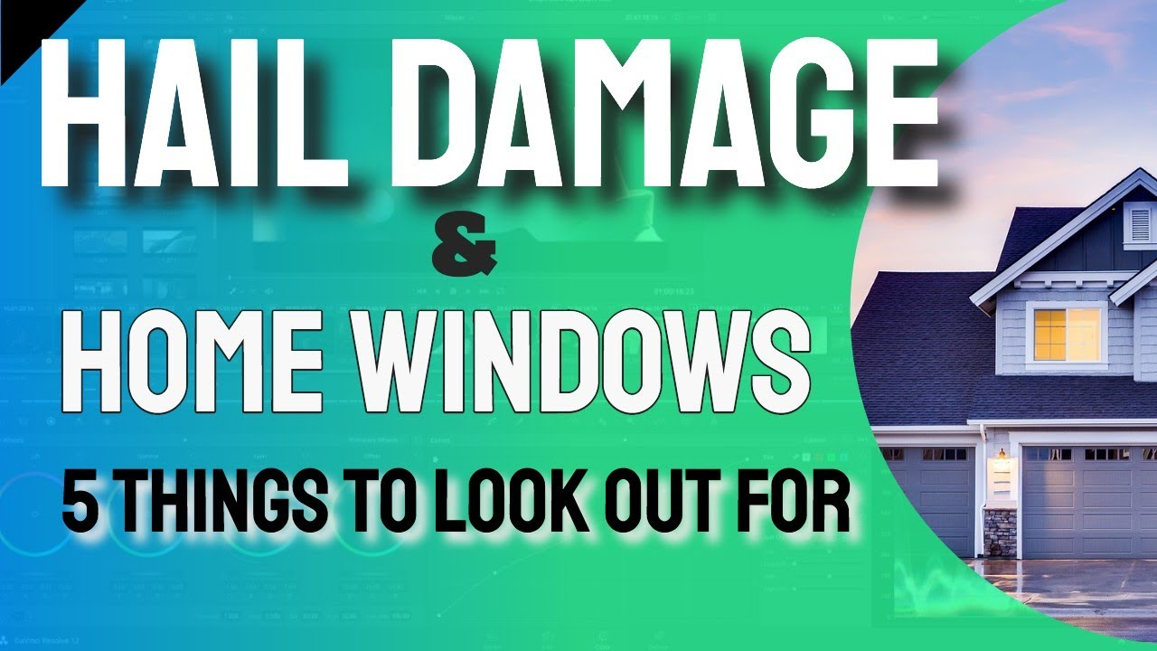 Home Window Hail Damage