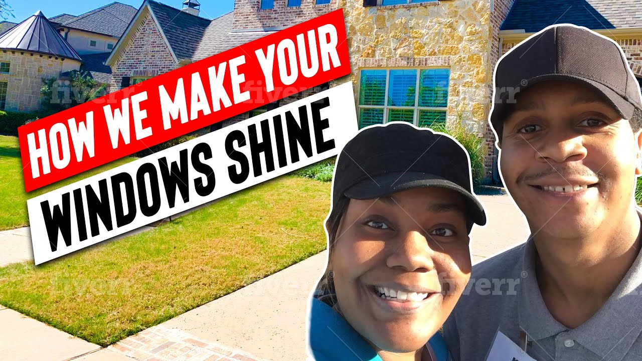 Residential Window Cleaning – How we make your windows shine