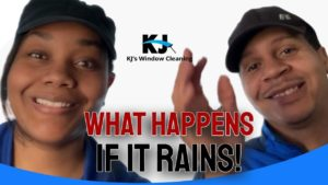 Residential Window Cleaning – What happens if it rains?